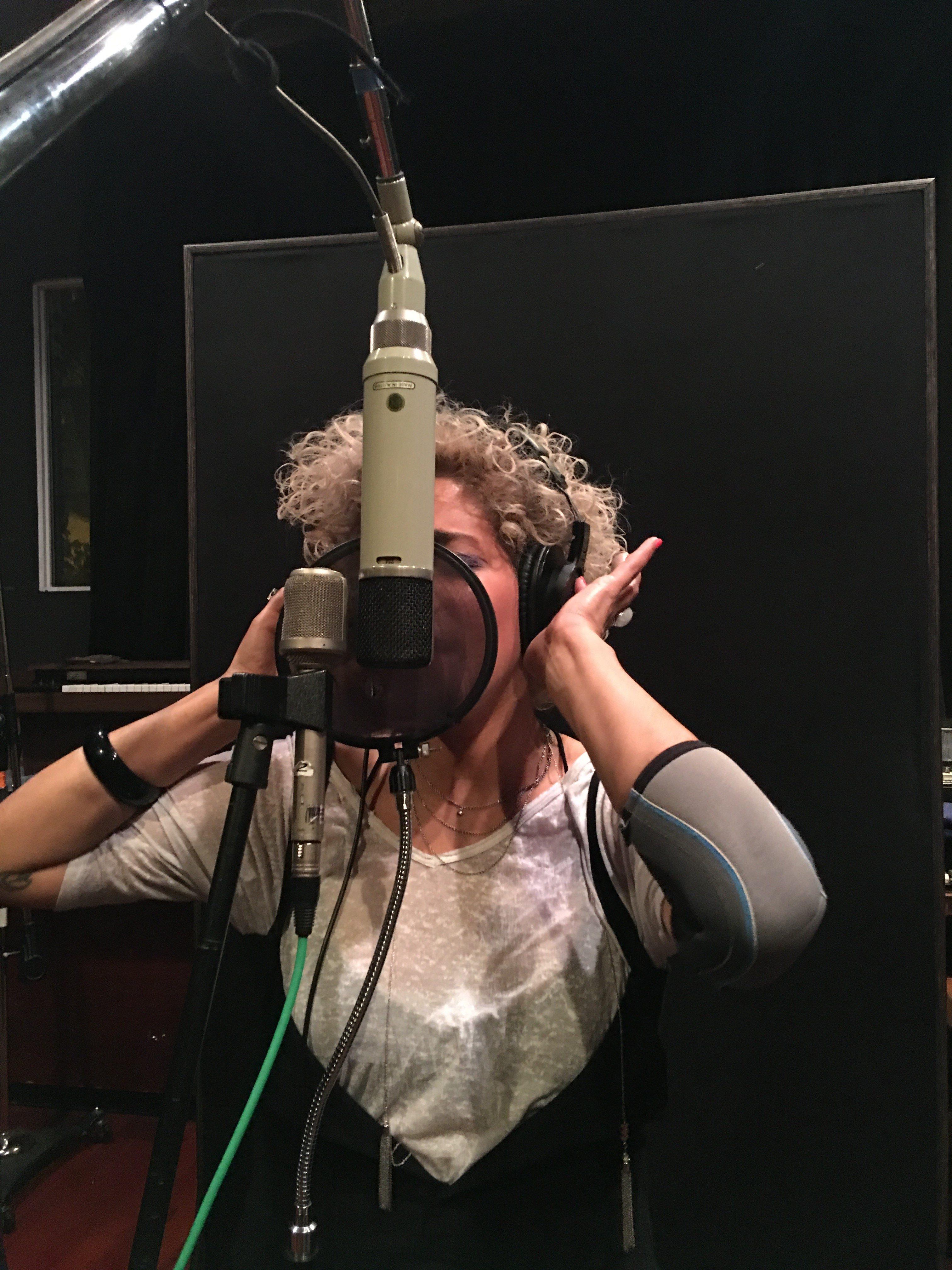 Making My First Studio Album